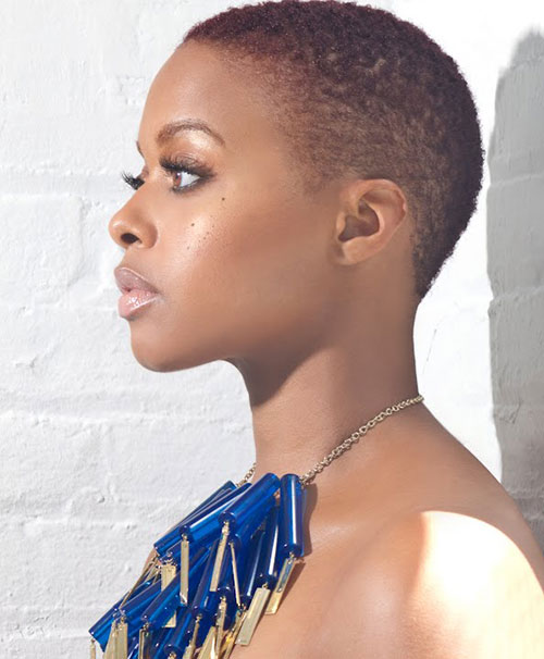 5 Stunning Super Short Natural Haircuts African American Cruckers