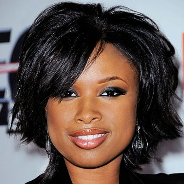 Captivating Short Haircut Wavy for Parties African American