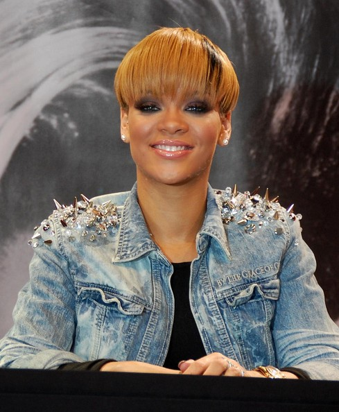 Exciting Two Way Color Haircut full Bangs African American