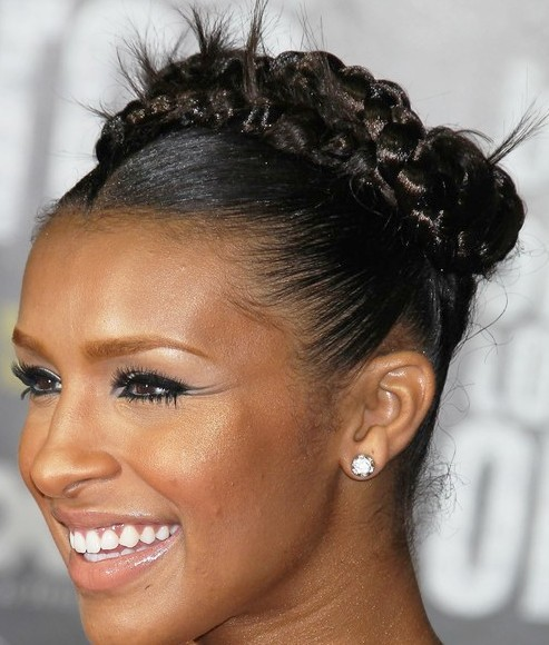 Superb How To Do African American Braided Updos Braids Hairstyle Inspiration Daily Dogsangcom