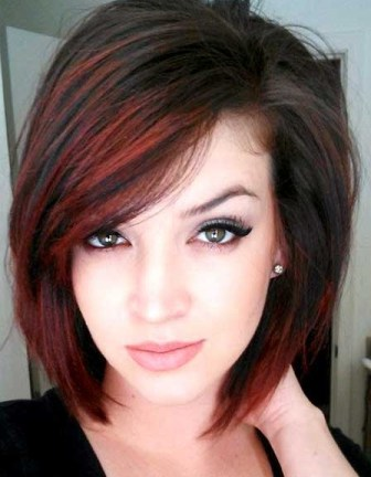 Must try red short bob haircut African American