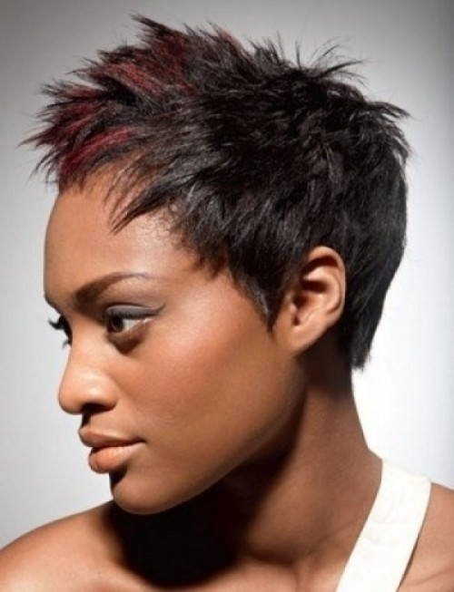 Messy Pixie Cut For African American Women Elegant Hairstyles African American Pixie Cuts