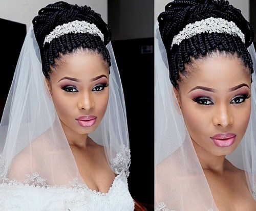5 Breathtaking Wedding Braided Hairstyles For Black Women