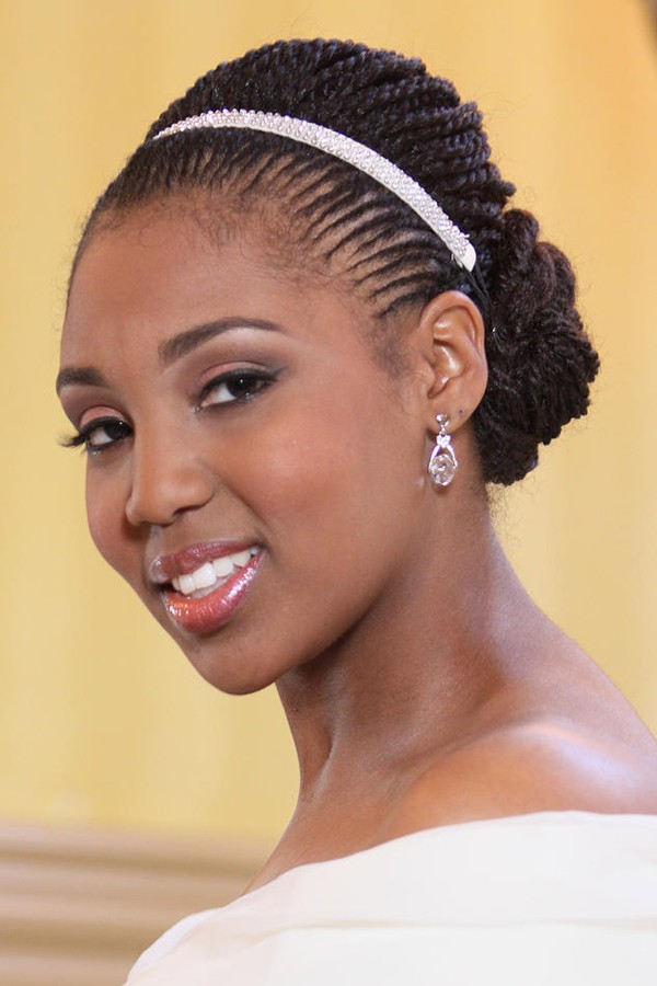 braided wedding hair styles 5 breathtaking wedding braided hairstyles for black 8175