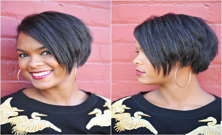 5 Cute Wedding Bob Straight Hairstyles Black Women