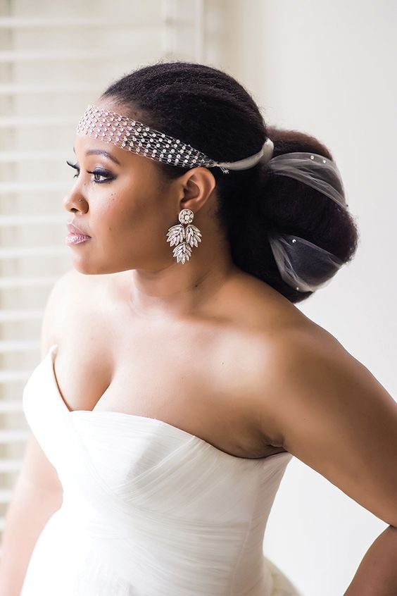 stunning-wedding-natural-straight-and-puff-hair
