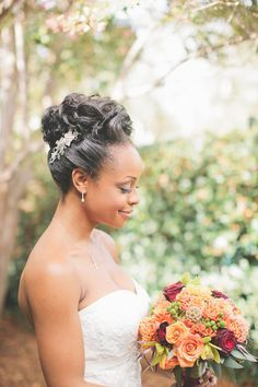eye-catching-wedding-hairstyle-on-side-loose-up-do-black