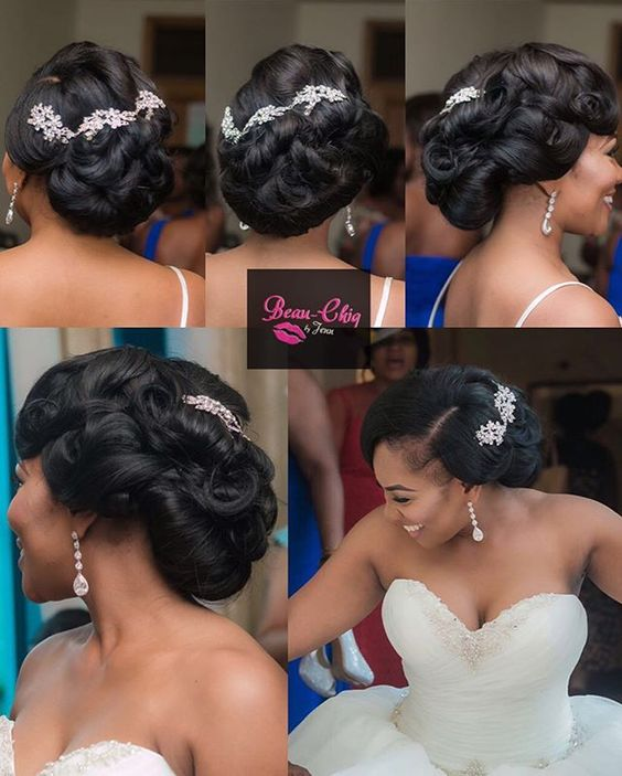 eye-catching-wedding-layered-hairstyle-on-loose-up-do