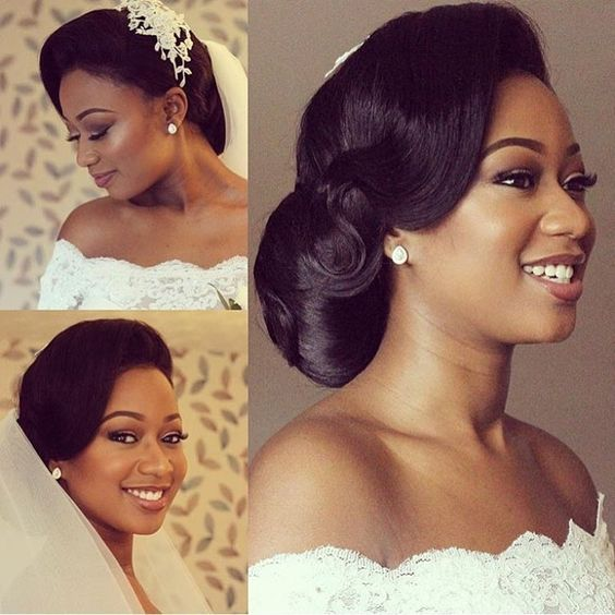 Straight Wedding Hairstyles: 5 Must Have Wedding Straight Medium Hair Black Women