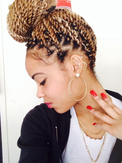 lovely-wedding-blonde-twists-black