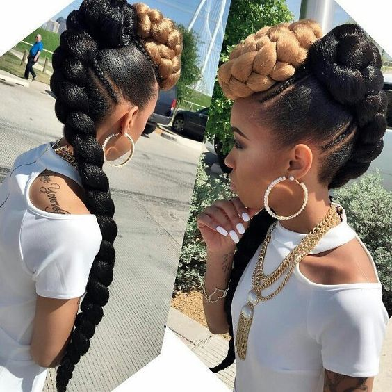 Wedding Hairstyles With Box Braids: 5 Lovely Wedding Braid Hairstyles Black