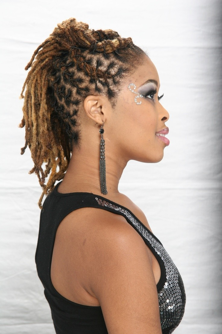 Statement making swag wedding dreadlocks black