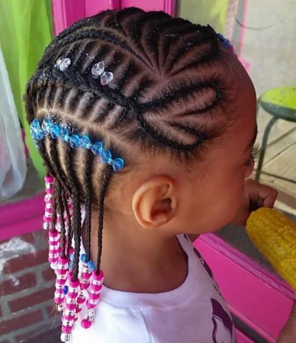 Best braided black hairstyles for kids