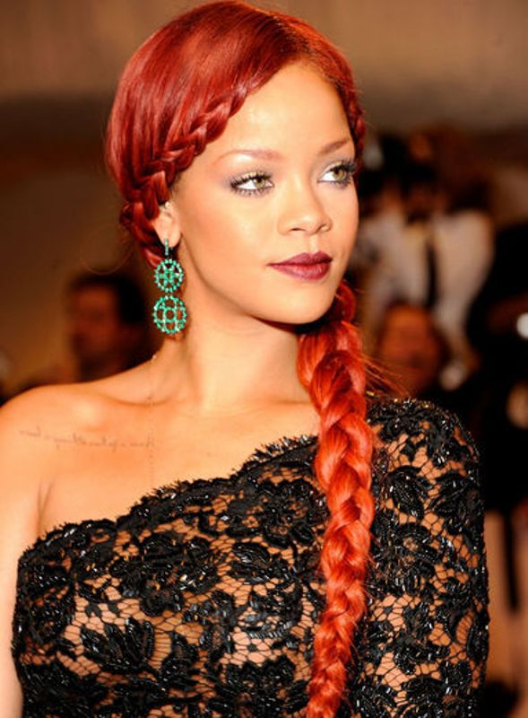 Best braided black hairstyles with color