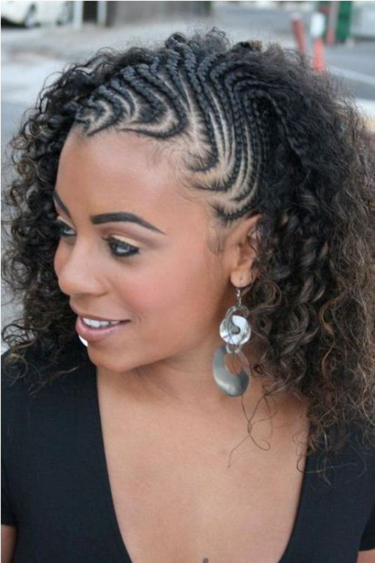 Best curly braided black hairstyles