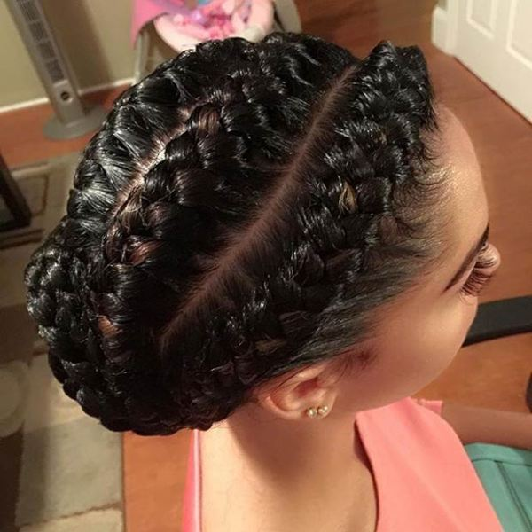 Best elegant braided black haisrstyles