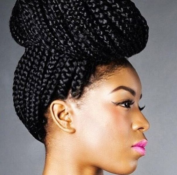 50 Best Black Braided Hairstyles for Black Women (2018 ) | Cruckers