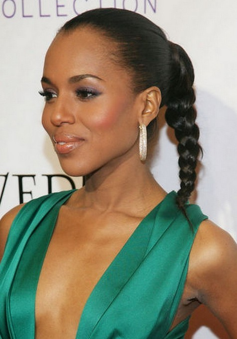 Best natural braided ponytail hairstyle
