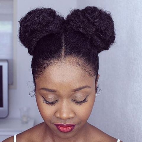 Hairstyles For Natural Black Hair - 4k Wallpapers