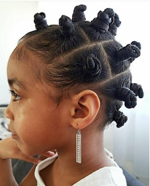Best natural hairstyle for kids