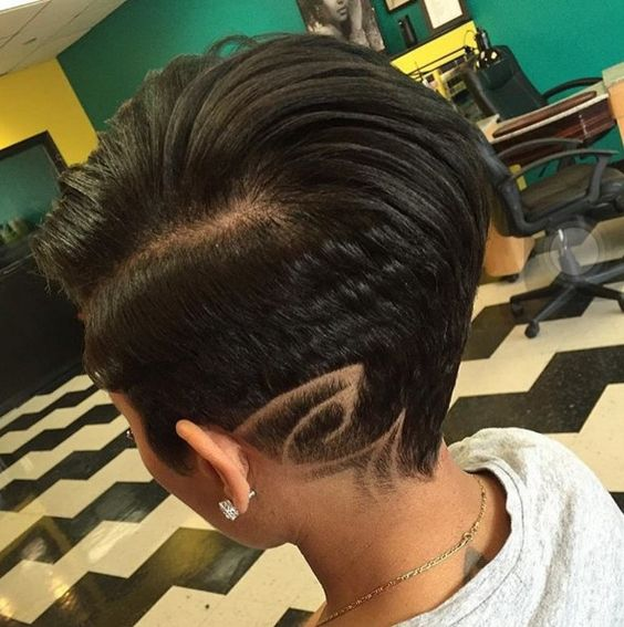 Eye catching haircut ideas for African American girls-arithmetic
