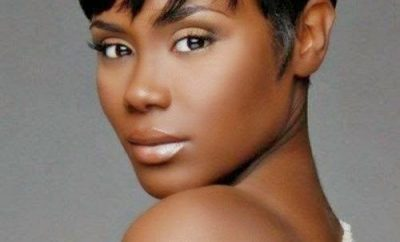 Eye catching haircut ideas for African American girls-oval face
