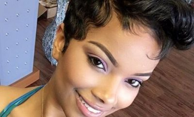 Eye catching haircut ideas for African American girls- relaxed hair