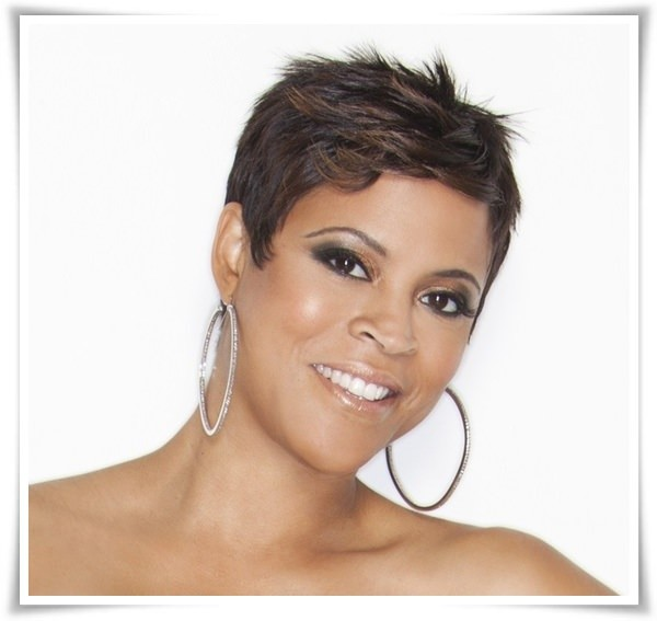 Latest short haircuts for African American girls- fine