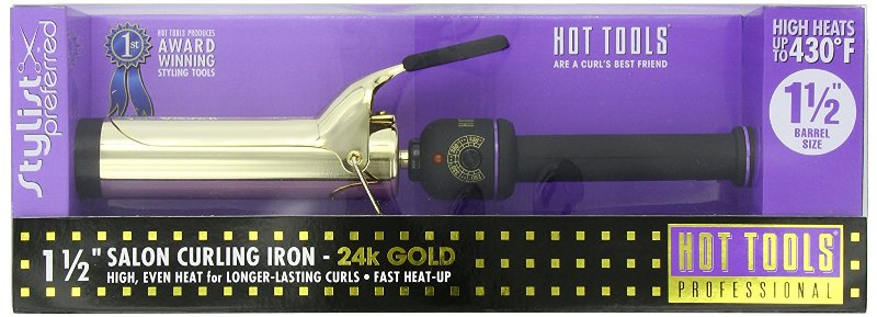 Hot Tools Professional 1102 Curling Iron with Multi-Heat Control