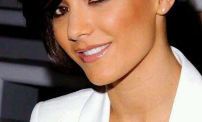 Tessanne's chin length pixie brown haircut