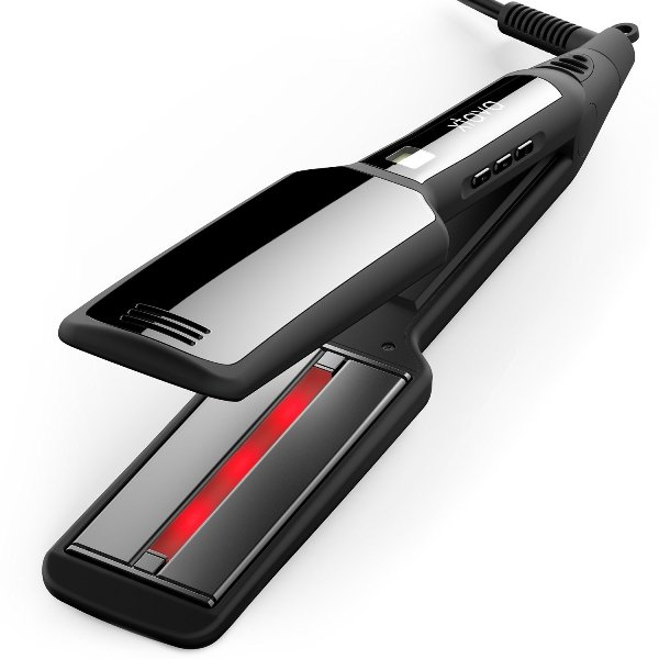 xtava Pro-Satin Infrared Straightener - Professional Flat Iron