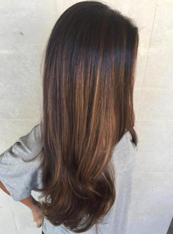 50 Best Balayage Straight Hairstyles 2019 Cruckers