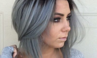 How to Dye Hair Gray
