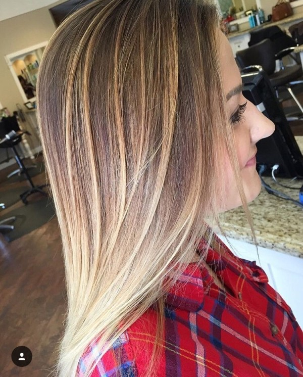 50 Best Balayage Straight Hairstyles 2018 Collection