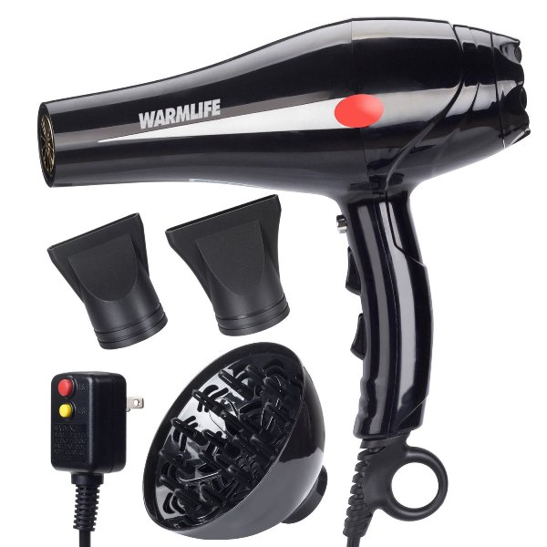 WarmLife 2000W Professional Ionic Ceramic Hair Dryer