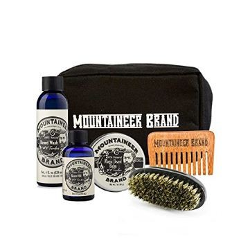 Canvas Dopp Beard Care Kit by Mountaineer Brand