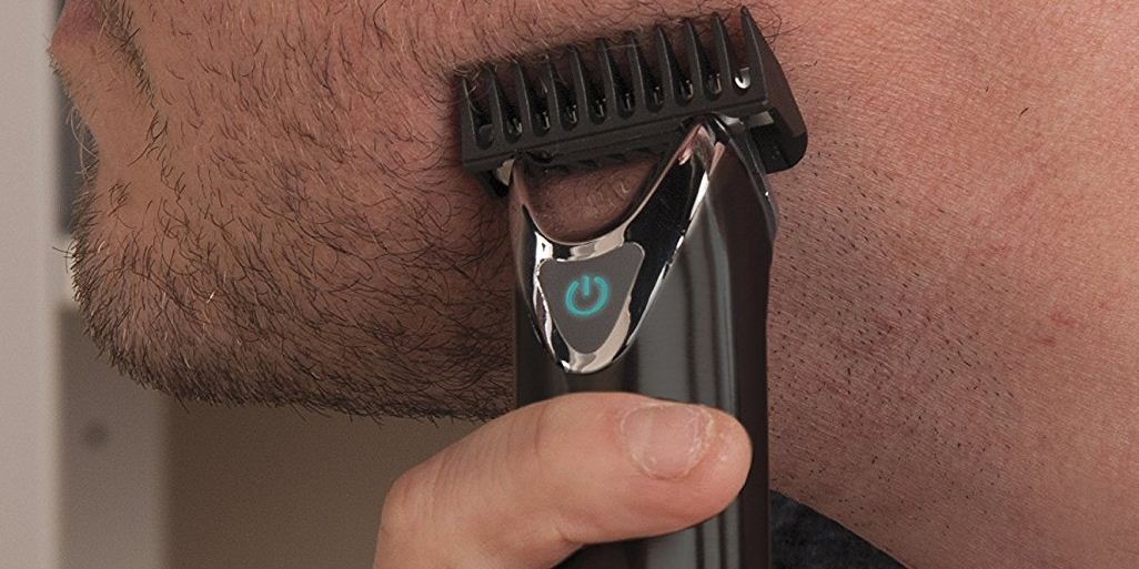 Wahl Clipper Slate Stainless Steel Lithium Ion Plus Beard Trimmers for Men
