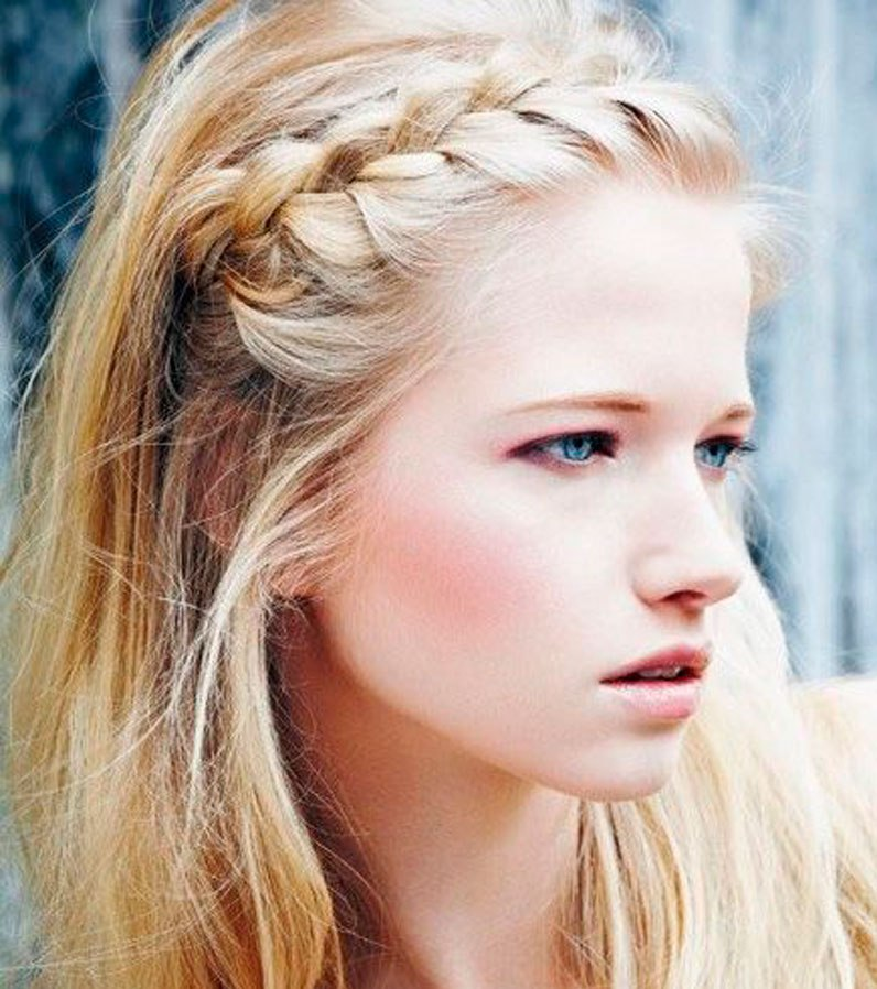 Boho Braided Hairstyle