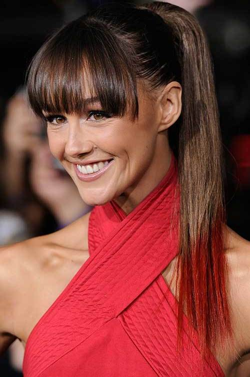 Fringed Ponytail hairstyle
