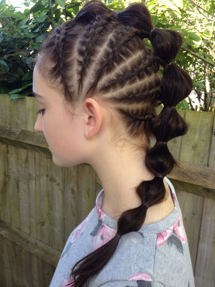 braided bubble style