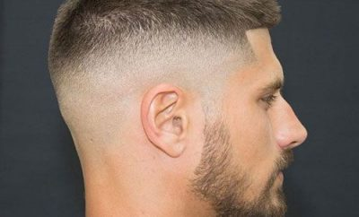 high fade military haircut