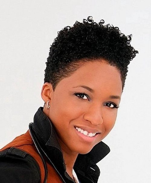 Natural-Curly-Short-Hairstyles-For-Black-Women