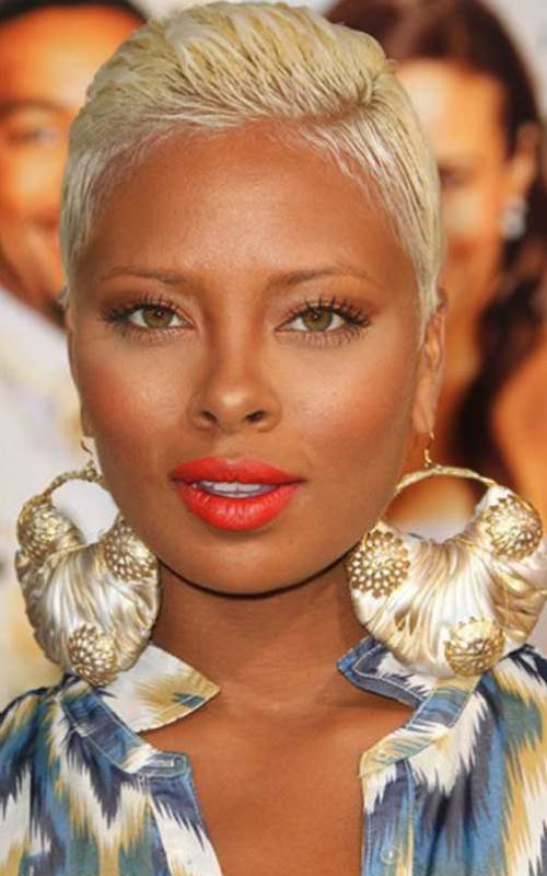 Short-Blonde-Hairstyles-For-Black-Women