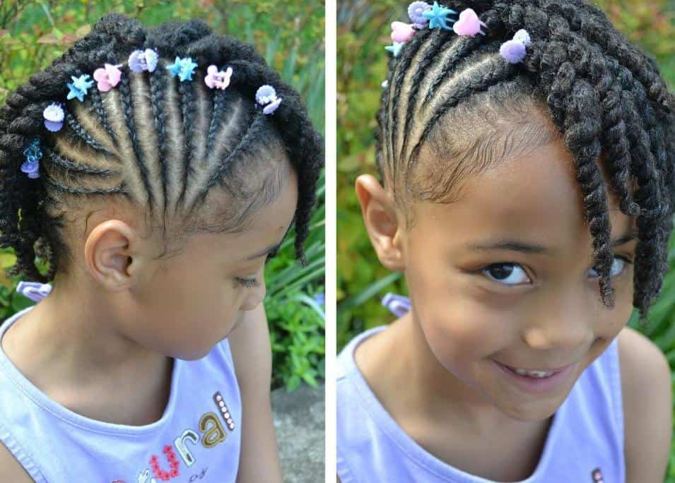10 Best Braided Hairstyles For Kids With Beads - CRUCKERS