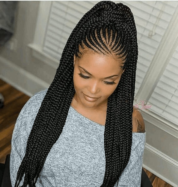 Cornrow Hairstyles for African American Women