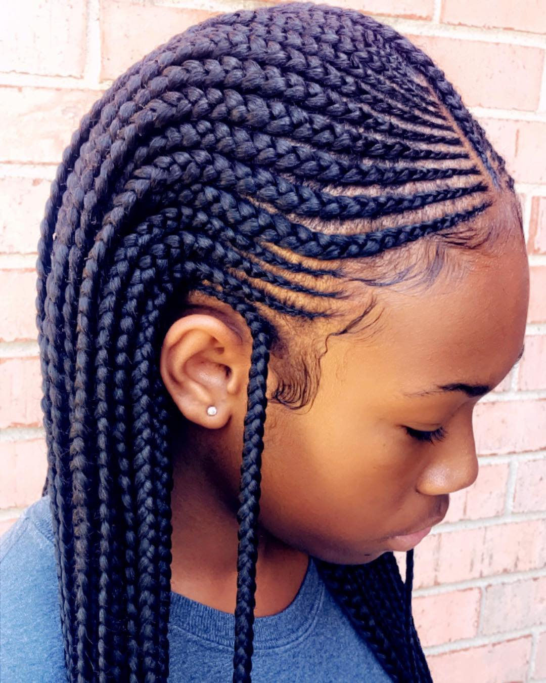 Cornrow Tree Braids