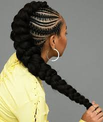 Cornrows Mohawk With Extensions 22