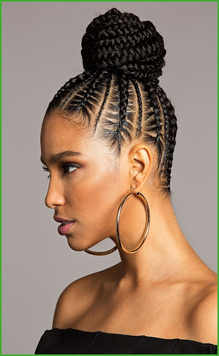 cornrow braided hairstyles