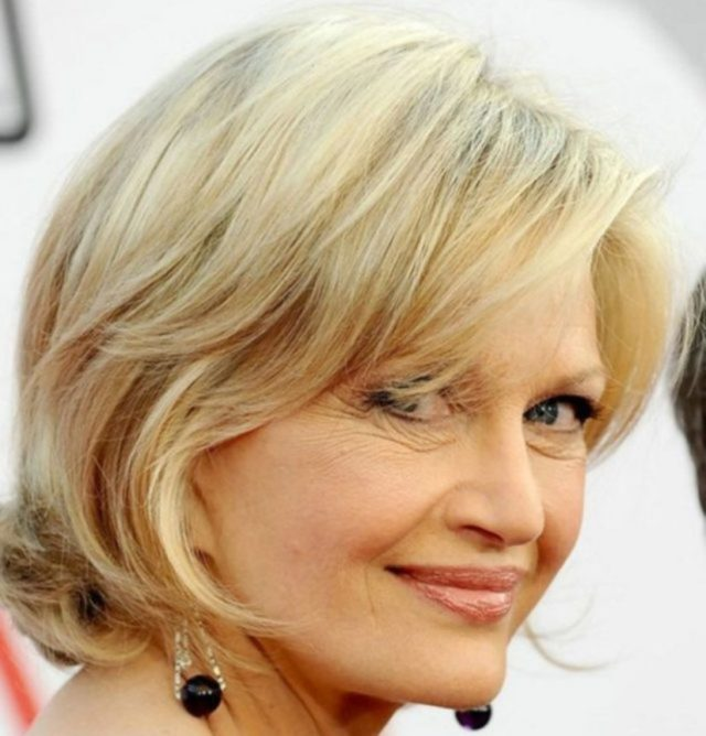 Pretty Short Haircuts For Women Over 50